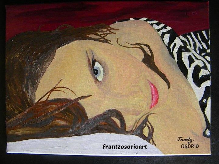 Portrait de femme Tableau Peinture à l'huile