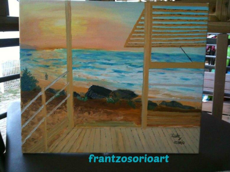 cabane front de mer