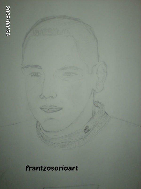 Portrait Crayon sur canson