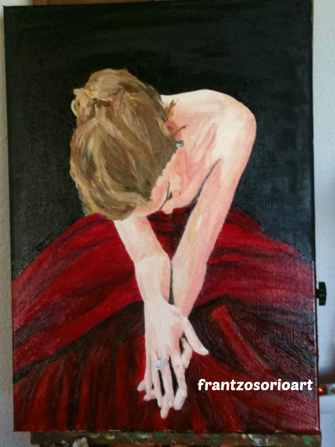 Peinture a l`huile opéra